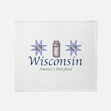 Wisconsin Throw Blanket