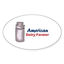 AMERICAN DAIRY FARMER Decal