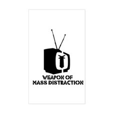 Weapon of Mass... Rectangle Decal