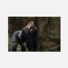 Gorilla Rectangle Magnet
