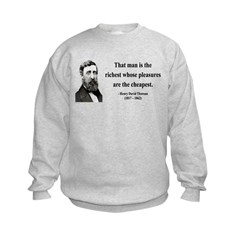 Henry David Thoreau 16 Sweatshirt