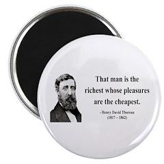 Henry David Thoreau 16 Magnet