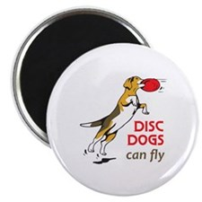 DISC DOGS CAN FLY Magnets