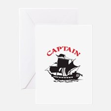 CAPTAIN Greeting Cards