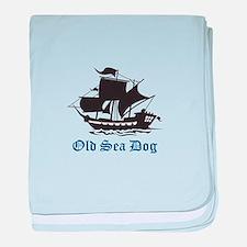 OLD SEA DOG baby blanket