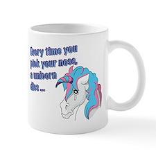 Sad Unicorn Mug