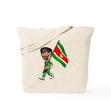 3D Suriname Tote Bag