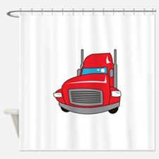TRUCK FRONT Shower Curtain
