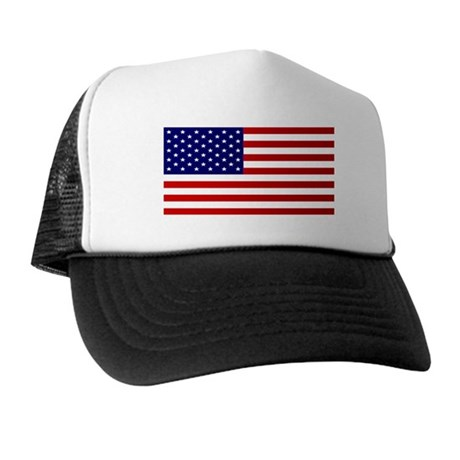 AMERICAN FLAG 2 Trucker Hat