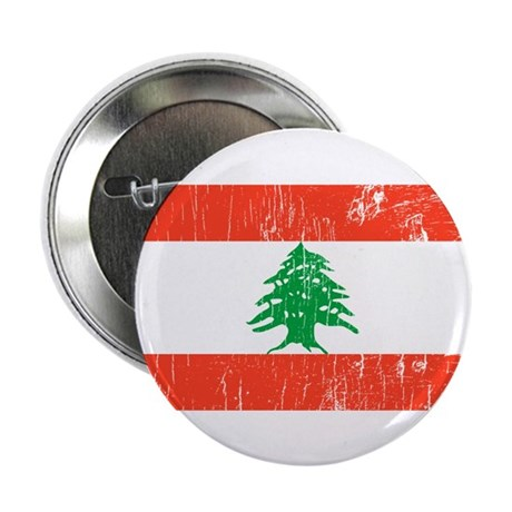 "Vintage Lebanon 2.25"" Button (10 pack)"