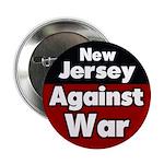 New Jersey Against War Button