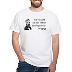 Henry David Thoreau 17 White T-Shirt