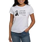 Henry David Thoreau 17 Women's T-Shirt