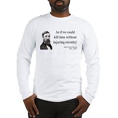 Henry David Thoreau 17 Long Sleeve T-Shirt