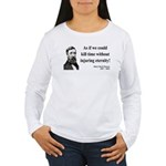 Henry David Thoreau 17 Women's Long Sleeve T-Shirt