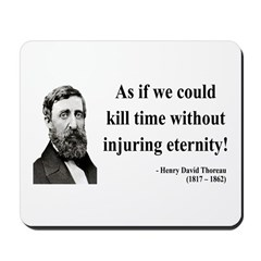 Henry David Thoreau 17 Mousepad