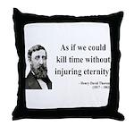 Henry David Thoreau 17 Throw Pillow