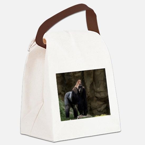 Gorilla Canvas Lunch Bag