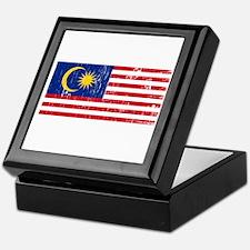 Vintage Malaysia Keepsake Box
