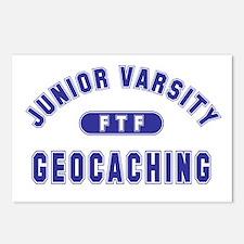 """""""Junior Varsity Geocaching"""" Postcards (Package of"""