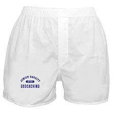 """Junior Varsity Geocaching"" Boxer Shorts"