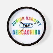 """Junior Varsity Geocaching"" Wall Clock"