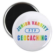 """Junior Varsity Geocaching"" Magnet"