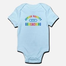 """Junior Varsity Geocaching"" Infant Bodysuit"