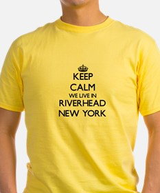 Keep calm we live in Riverhead New York T-Shirt