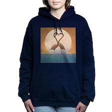 Flamingos Women's Hooded Sweatshirt