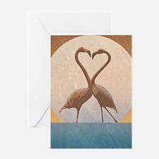 Flamingos Greeting Cards