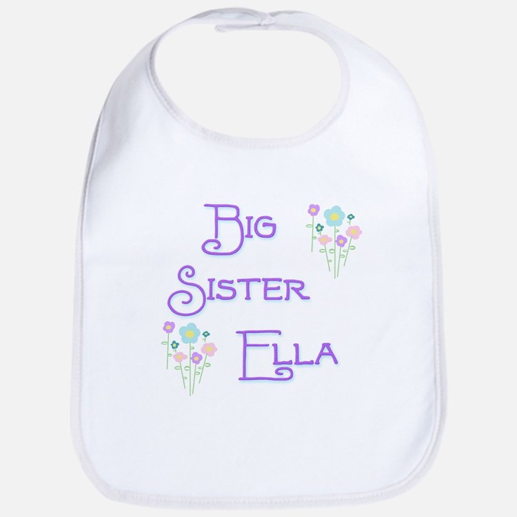 Big Sister Ella Bib