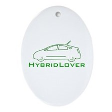 Hybrid Lover Oval Ornament