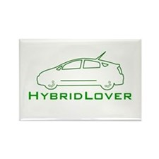 Hybrid Lover Rectangle Magnet