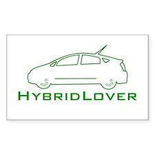 Hybrid Lover Rectangle Decal
