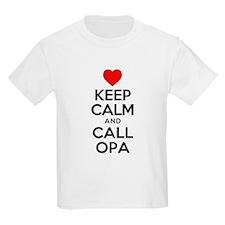 Keep Calm Call Opa T-Shirt