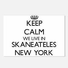 Keep calm we live in Skan Postcards (Package of 8)