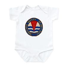 USS SAUFLEY Infant Bodysuit