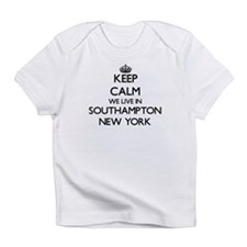 Keep calm we live in Southampton Ne Infant T-Shirt