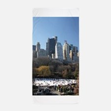 New York City Xmas Pro Photo Beach Towel
