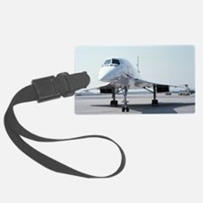 Super! Supersonic Concorde Luggage Tag