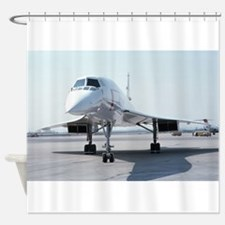 Super! Supersonic Concorde Shower Curtain