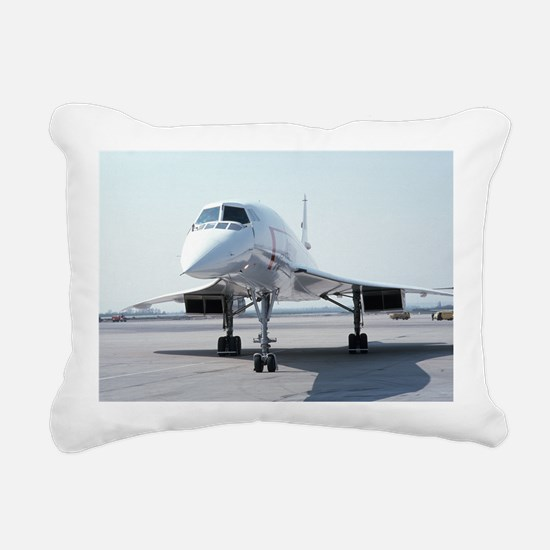 Super! Supersonic Concor Rectangular Canvas Pillow