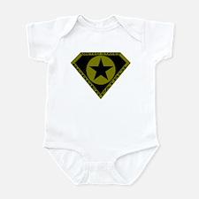 BORDER PATROL SHIRT SUPER BOR Infant Bodysuit