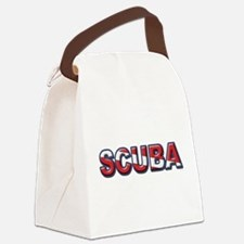 SCUBA Canvas Lunch Bag