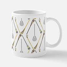 Five Lacrosse Sticks Mugs