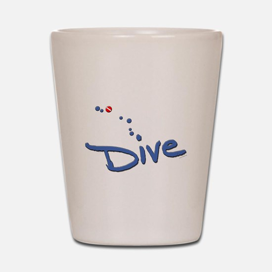 Dive Shot Glass