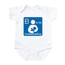 B is for breastfeeding Infant Bodysuit