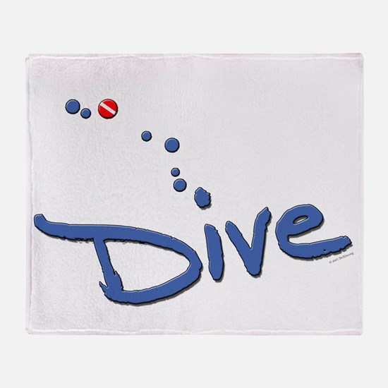 Dive Throw Blanket