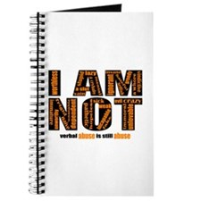 I Am Not (verbal Abuse) Journal